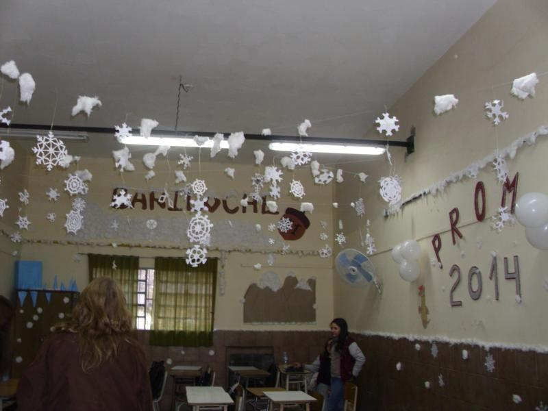 Decoraci n de aulas para despedir el semestre for Decoracion de aula para navidad